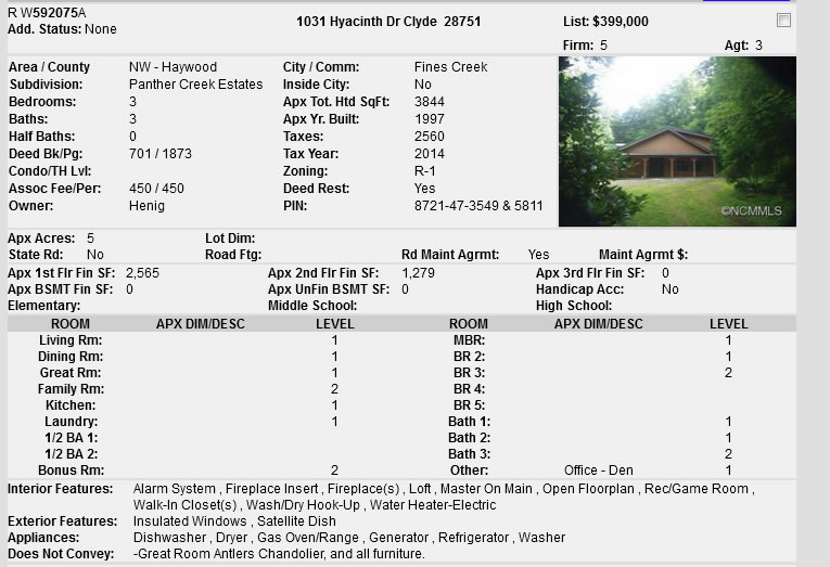 Western North Carolina Unique Log Home Privacy - Transquility - Quietness - near Smokie Mountains only 3.3 miles from I-40.